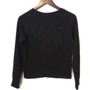 H&M Tops - H&M Black crew neck sweatshirt